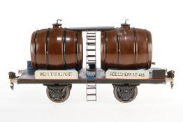 Märklin Weinwagen 1940, S 1, HL, eine Abdeckung ersetzt, LS, L 24, Z 3