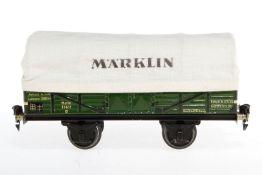 Märklin Ladewagen 1763, S 1, CL, LS und gealterter Lack, Länge 24, sonst noch Z 2
