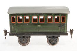 Märklin Personenwagen 1892, S 1, CL, Dach rest., LS, L 17, Z 3