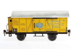 Märklin Bananenwagen 1792, S 1, CL, mit BRH und 2 ST, kleine Ausbesserungen, LS und gealterter Lack,