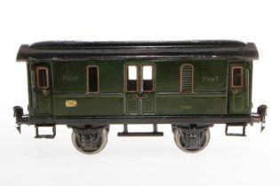 Märklin Postwagen 1876, S 1, HL, mit 4 AT, Schwarzbereiche rest., L 24, Z 4