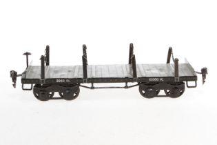 Märklin Rungenwagen 2933, S 1, HL, Radsätze ergänzt, L 28, Z 4