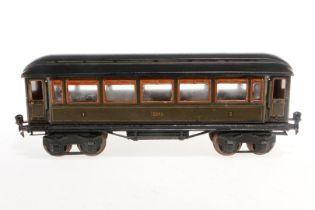Märklin Personenwagen 1886, S 1, CL, mit 4 AT, tw ÜL, L 33,5, Z 4