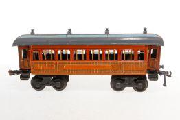 Bing Schlafwagen, S 1, CL, mit Inneneinrichtung (NV), 4 AT und Beleuchtung, LS und gealterter