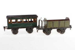 2 Märklin Wagen, S 1, HL und CL, Z 3