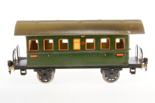 Märklin Personenwagen 1807, S 1, CL, mit 2 AT und Gussrädern, LS tw ausgebessert, L 27, Z 3