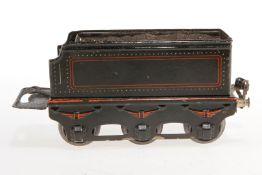 Märklin Tender E 1049, S 1, schwarz, je 1 Fremdbohrung mit Anschluss in Stirnseiten, LS tw