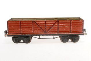 Märklin Kastenwagen 1949, S 1, HL, LS und gealterter Lack, L 31,5, Z 3