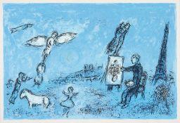 Marc Chagall. Le Peintre et son Double (Der Maler und sein Abbild).