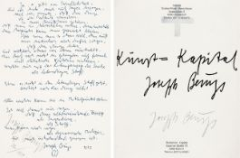 Joseph Beuys. James Joyce.