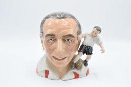 Bairstow Manor Collectables character jug 'Sir Stanley Matthews in Stoke City FC colours: limited ed