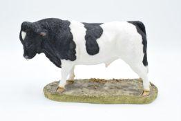 Boxed Sherratt and Simpson farming figure 'Holstein Bull'