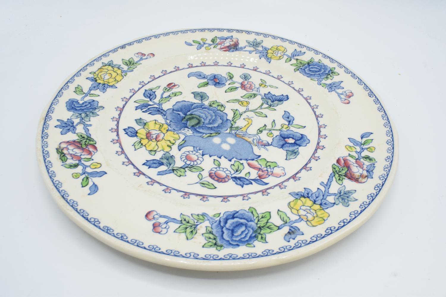 Masons Regency 10'' dinner plates (6) Generally in good condition, one has bad staining - Image 3 of 3