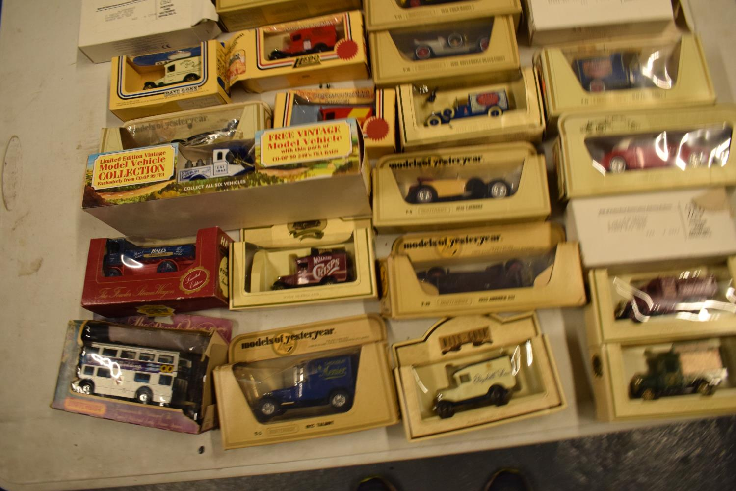 A collection of boxed toy cars to include Halls, Lledo, Days Gone etc (approx 25) Boxes are a bit - Image 3 of 3