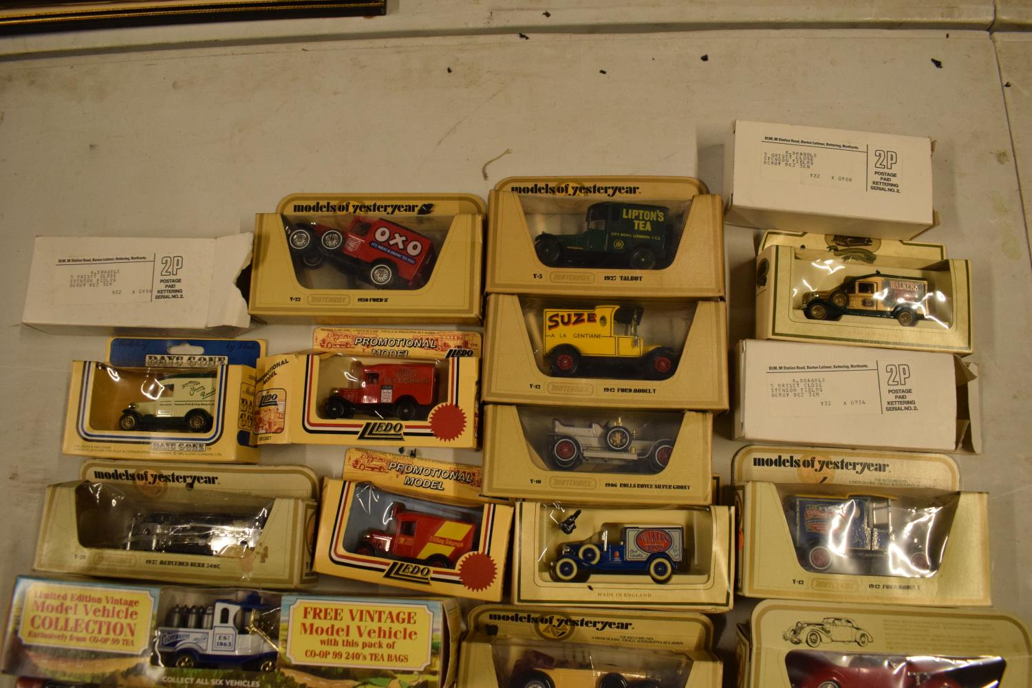 A collection of boxed toy cars to include Halls, Lledo, Days Gone etc (approx 25) Boxes are a bit - Image 2 of 3