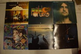 A varied of collection of vinyl records to include easy listening, 80s, rock, blues etc (100+) In