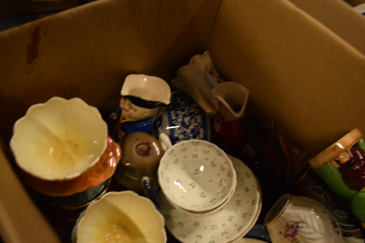 A mixed collection of items to include Royal Doulton character jug, Royal Crown Derby etc - Image 3 of 3