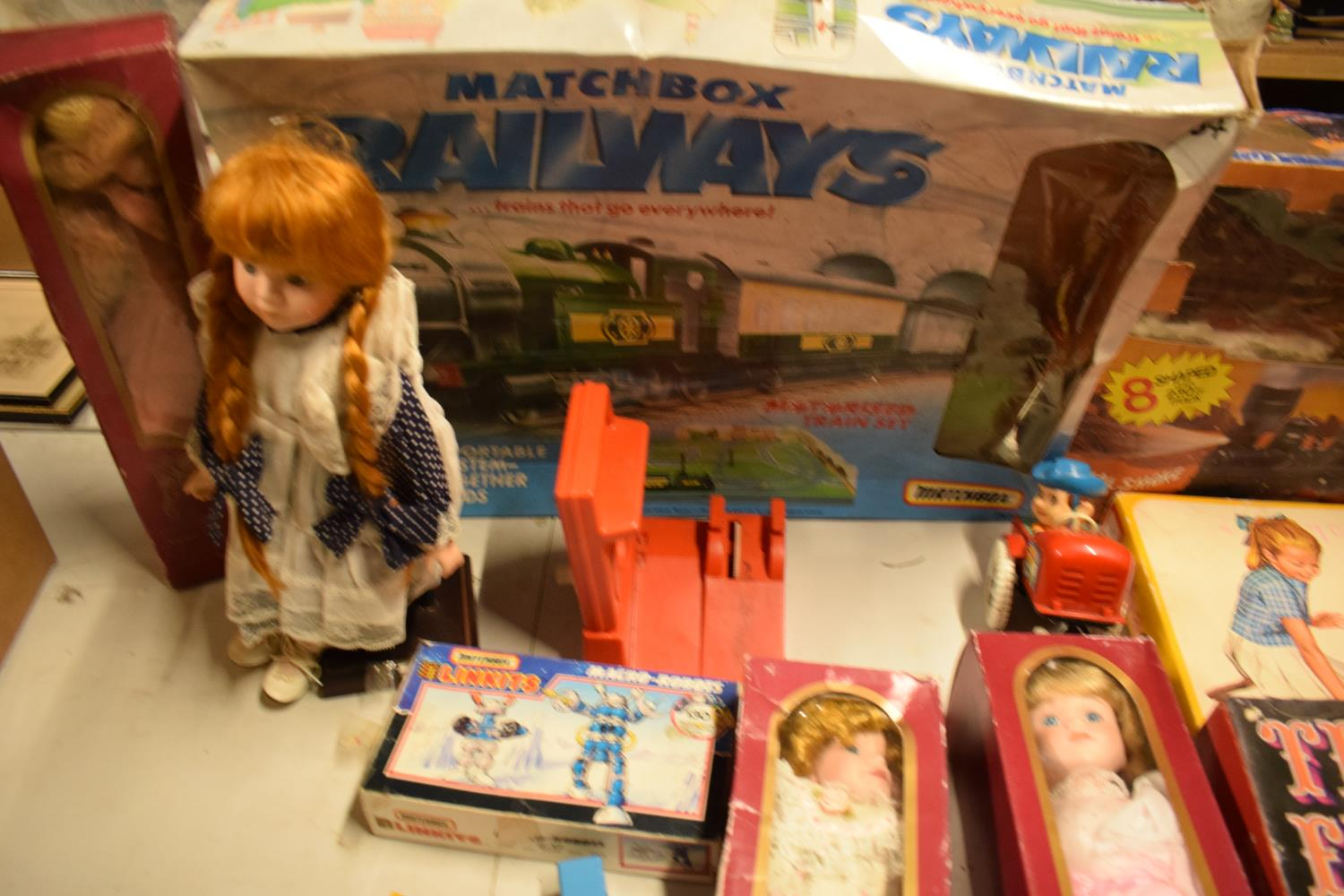 A mixed collection of items to include childrens toys, dolls, modern Corgi cars etc (lots of wear) - Image 3 of 5
