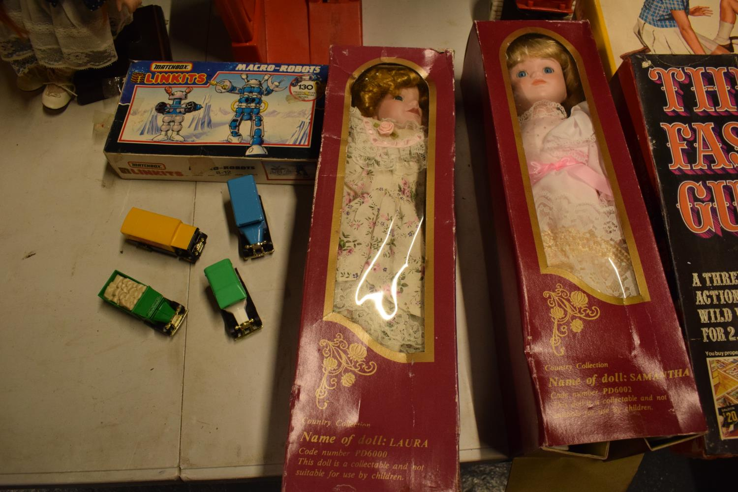 A mixed collection of items to include childrens toys, dolls, modern Corgi cars etc (lots of wear) - Image 4 of 5