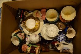 A mixed collection of items to include Royal Doulton character jug, Royal Crown Derby etc