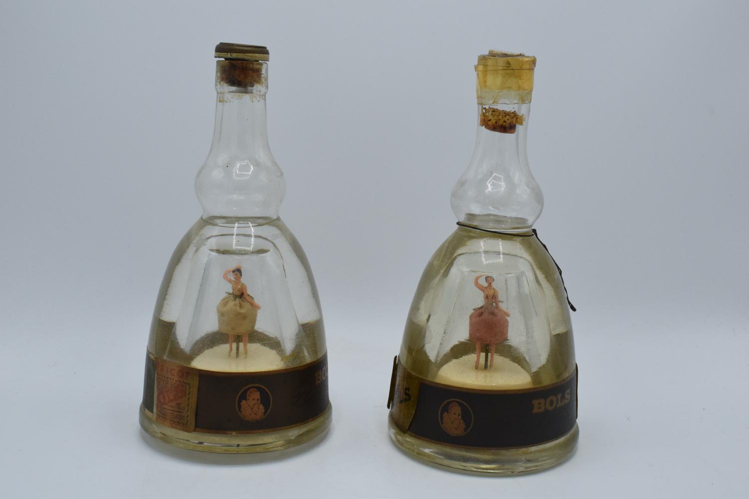 A pair of Bols Ballerinas in a bottle (2). Both appear to be in working order, though untested. No