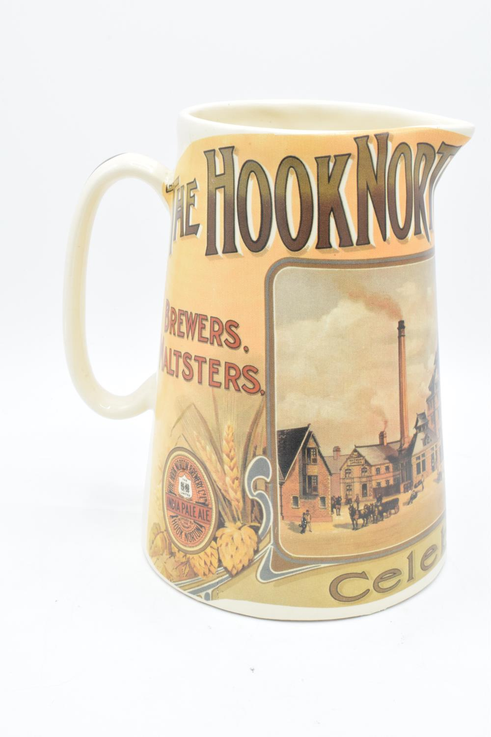 'The Hook Norton Brewery Co' late 20th century transfer print pub jug. In good condition with no - Image 4 of 5