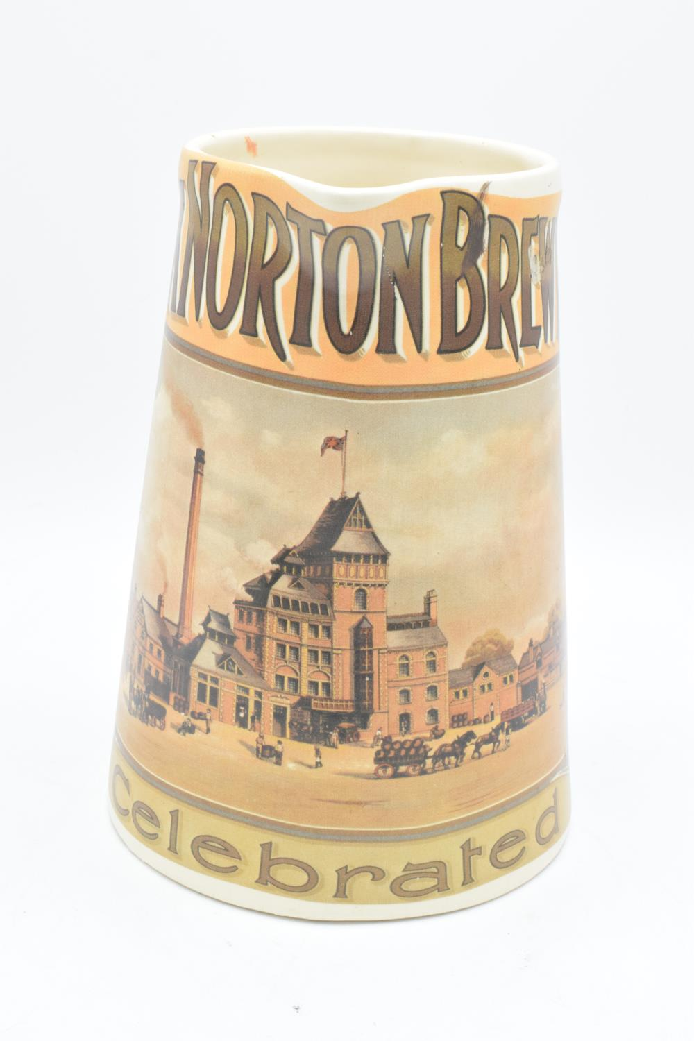 'The Hook Norton Brewery Co' late 20th century transfer print pub jug. In good condition with no - Image 3 of 5