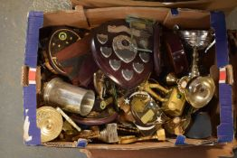 A collection of trophies. Condition is mixed. No condition reports available, please check the
