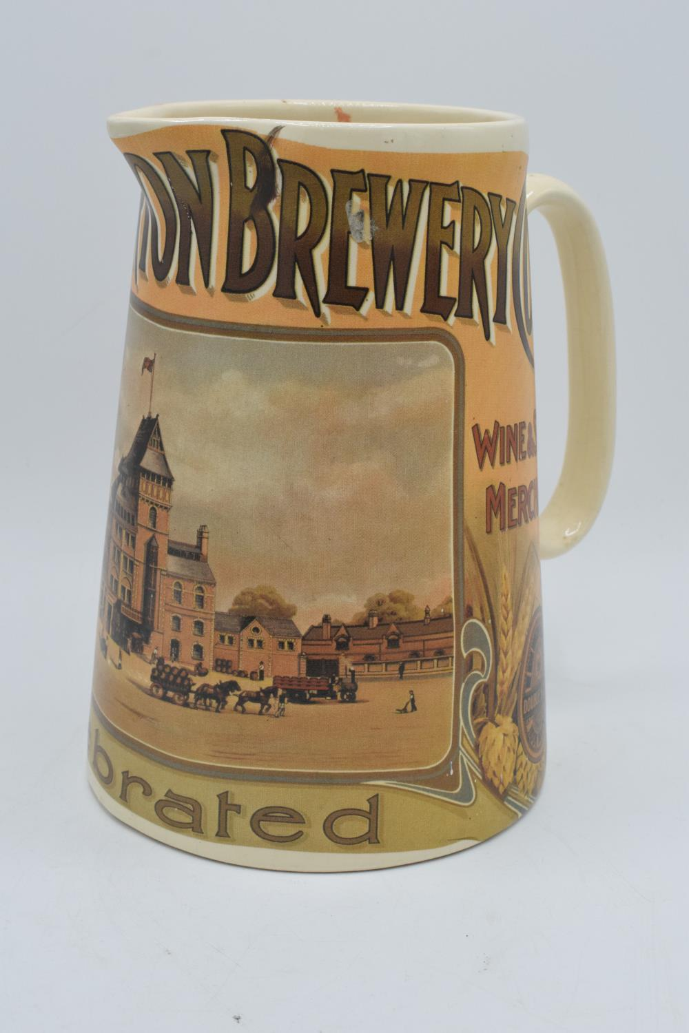 'The Hook Norton Brewery Co' late 20th century transfer print pub jug. In good condition with no - Image 2 of 5