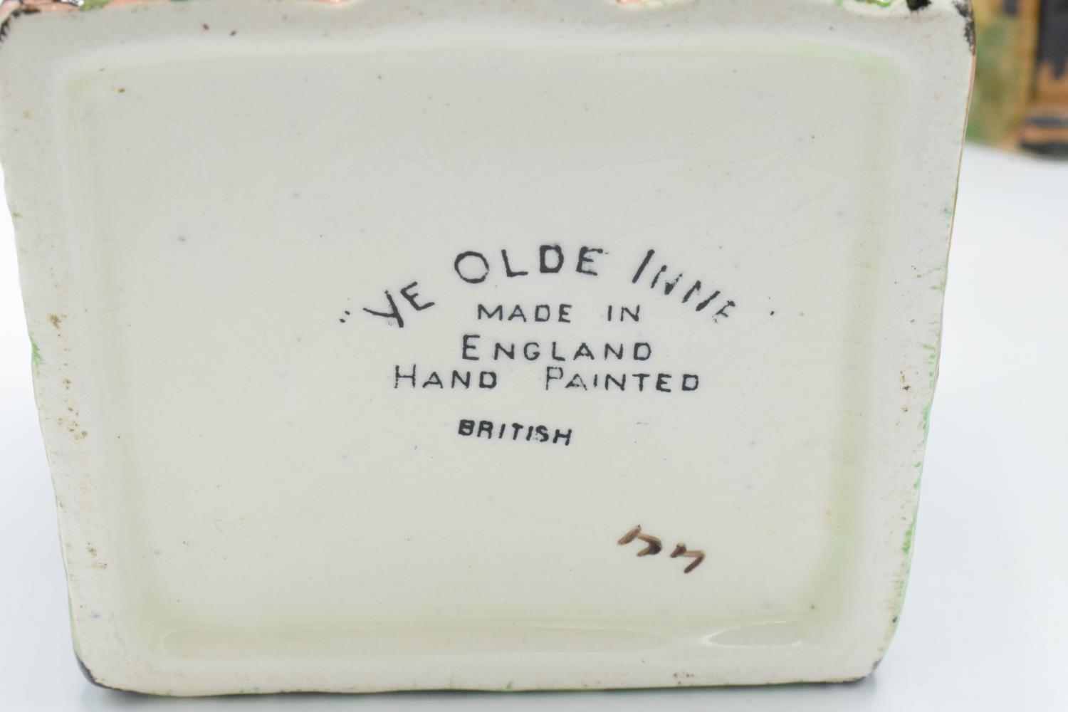 A part tea set in the Ye Olde Inne design, believed to be Royal Winton/ Grimwades, to include a - Image 3 of 3