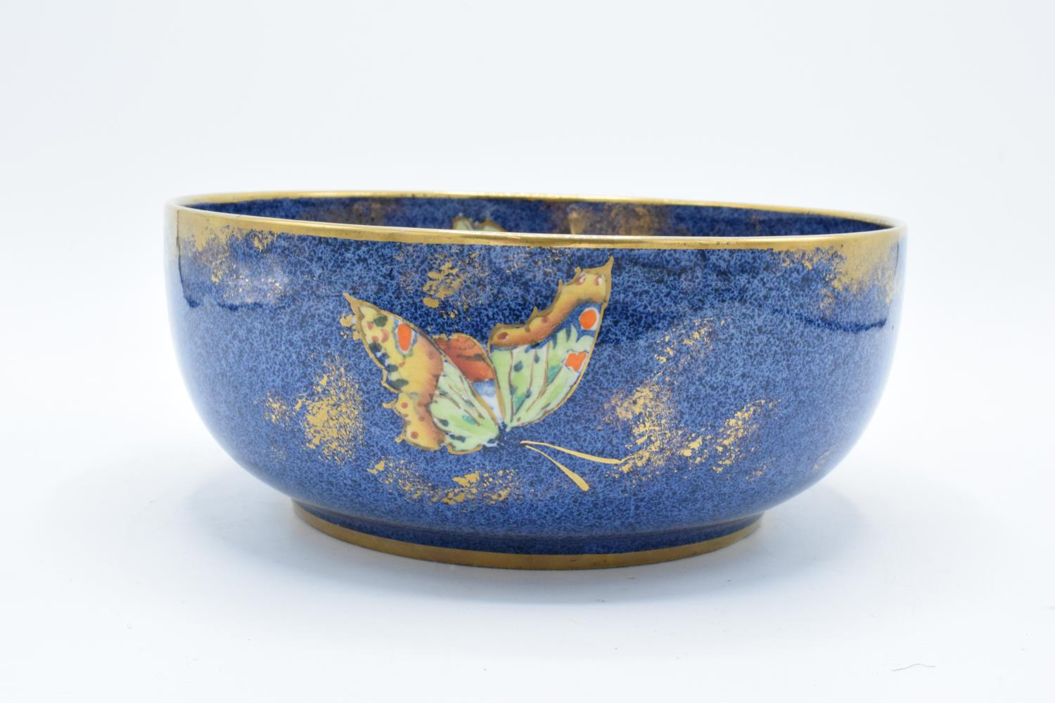 Rialto Ware pottery bowl with butterflies decoration. In good condition with no obvious damage or - Image 2 of 6