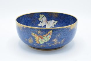 Rialto Ware pottery bowl with butterflies decoration. In good condition with no obvious damage or