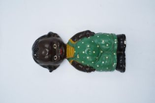 Mid 20th century plaster wall hanging figure in the Lucy Mabel Attwell style