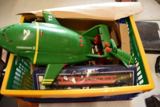 A mixed collection of toys to include cars, planes, lorrys etc.