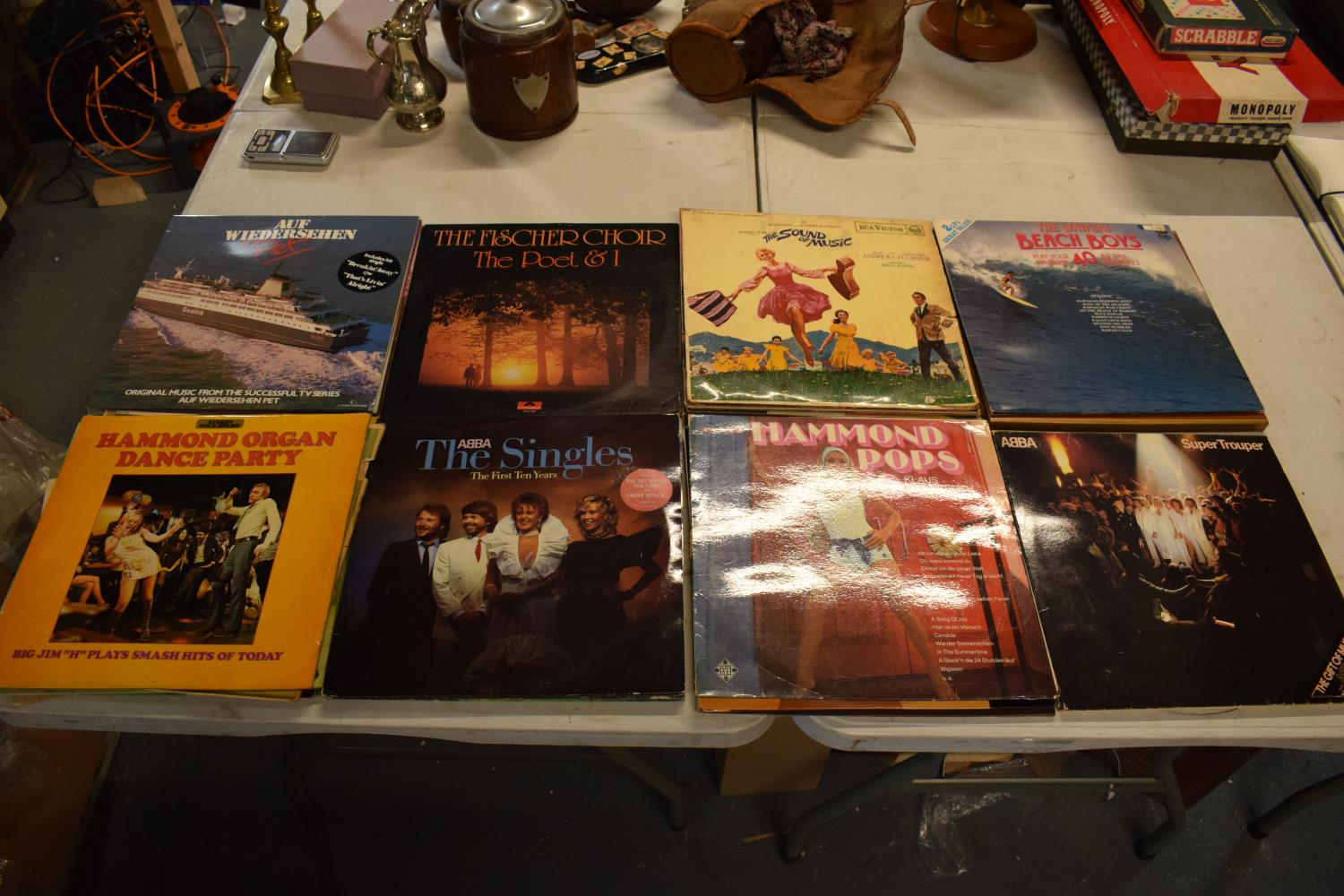 A collection to mainly 12'' LPs and vinyls to include artists such as ABBA, the Beach Boys, - Image 2 of 2