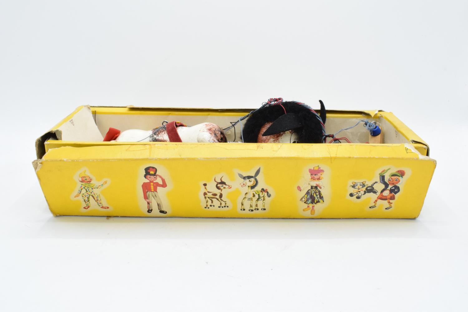 A mid 20th century children's toy Pelham Puppet Muffin the Mule. In well used condition. A great - Image 2 of 3