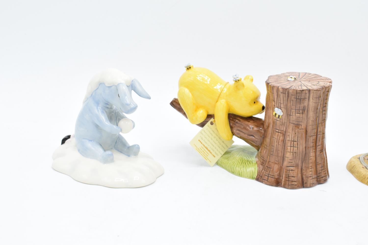 A collection of Royal Doulton Winnie the Pooh figures to include It's Honey all the way down, Rum- - Image 4 of 5