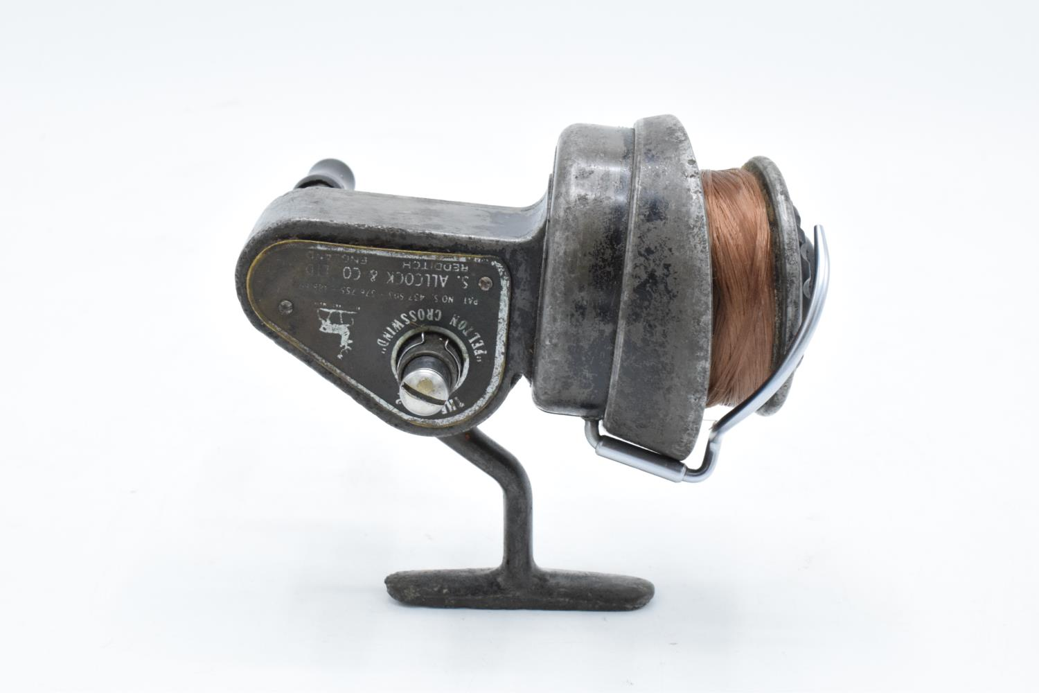 The No. 2 Felton Crosswind fishing reel by S. Allcock and Co Ltd of Redditch. Untested. - Image 2 of 6