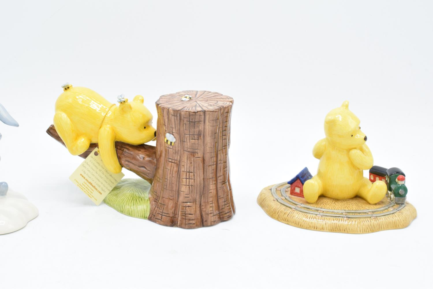 A collection of Royal Doulton Winnie the Pooh figures to include It's Honey all the way down, Rum- - Image 3 of 5