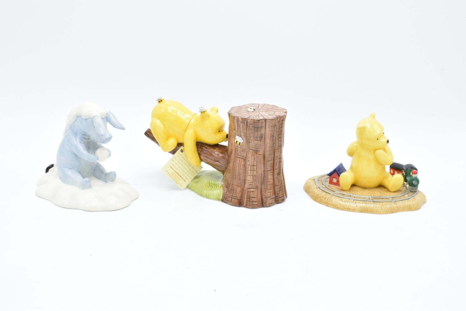 A collection of Royal Doulton Winnie the Pooh figures to include It's Honey all the way down, Rum- - Image 2 of 5
