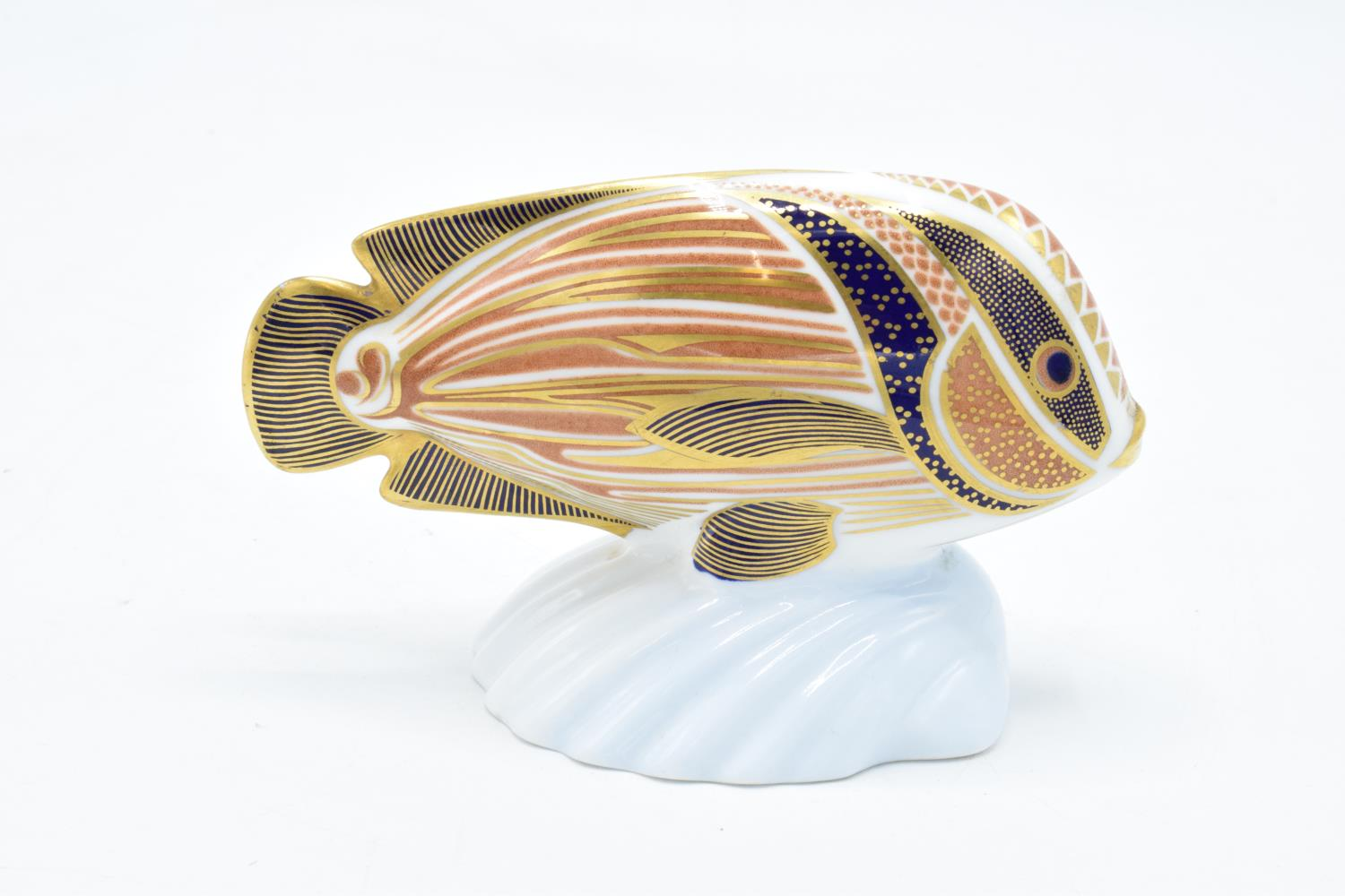 Royal Crown Derby tropical fish paperweight in the form of a Sweetlips. In good condition with no - Image 2 of 3