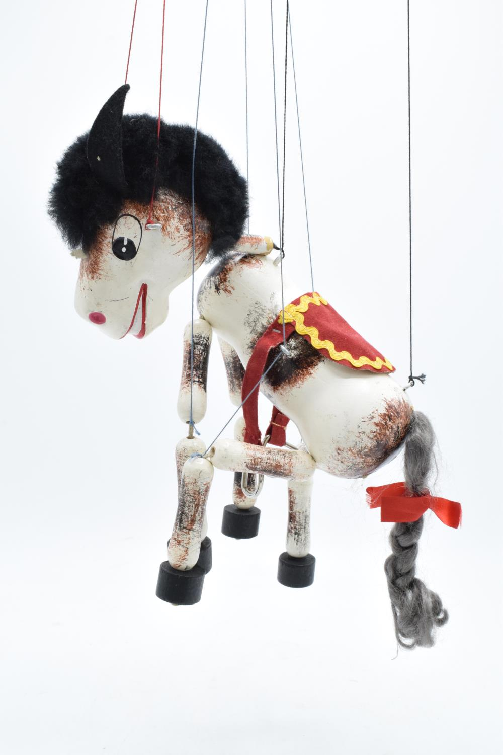 A mid 20th century children's toy Pelham Puppet Muffin the Mule. In well used condition. A great