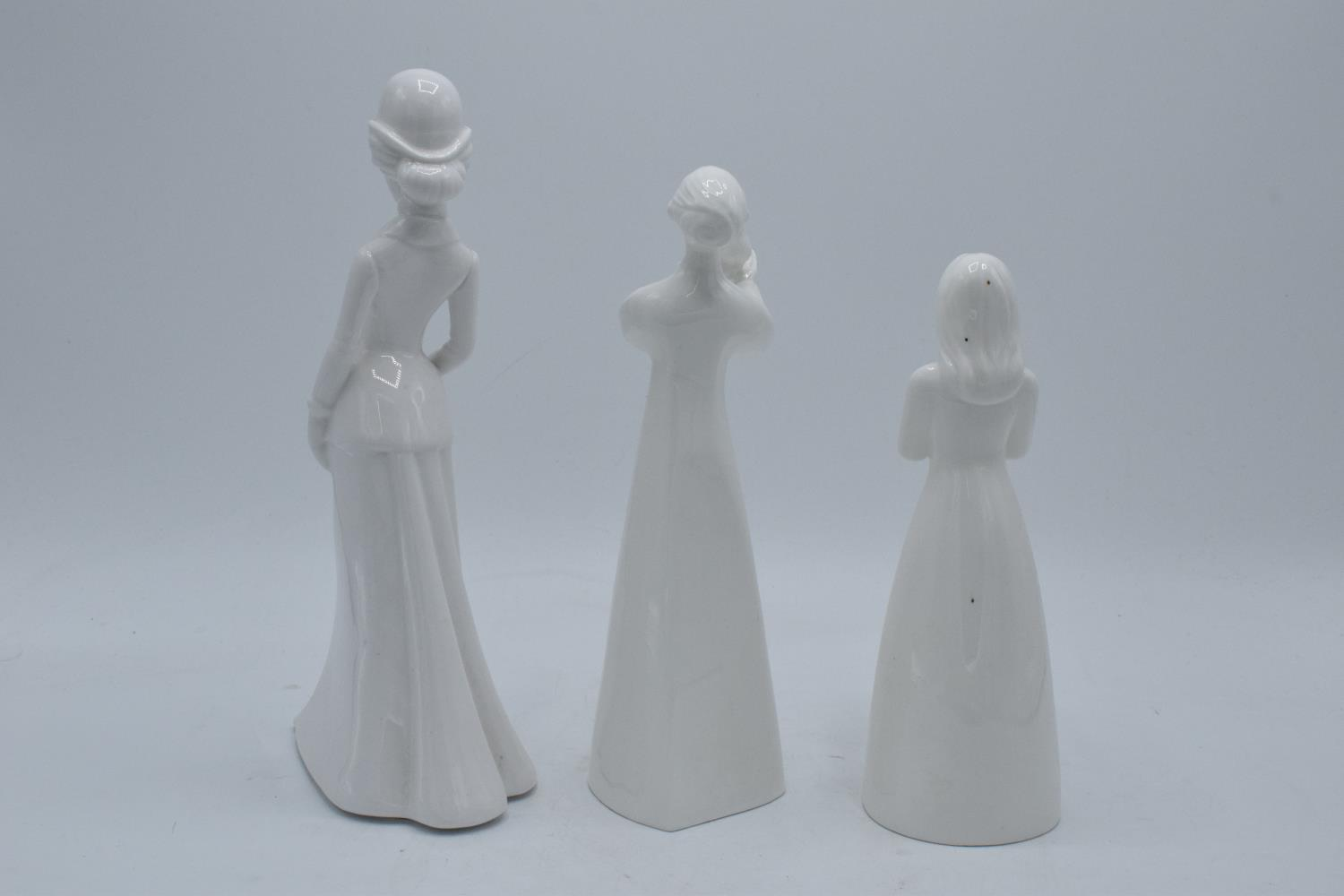 A collection of blanche china figures to include Spode Christina, Coalport Birthday Surprise and - Image 2 of 3