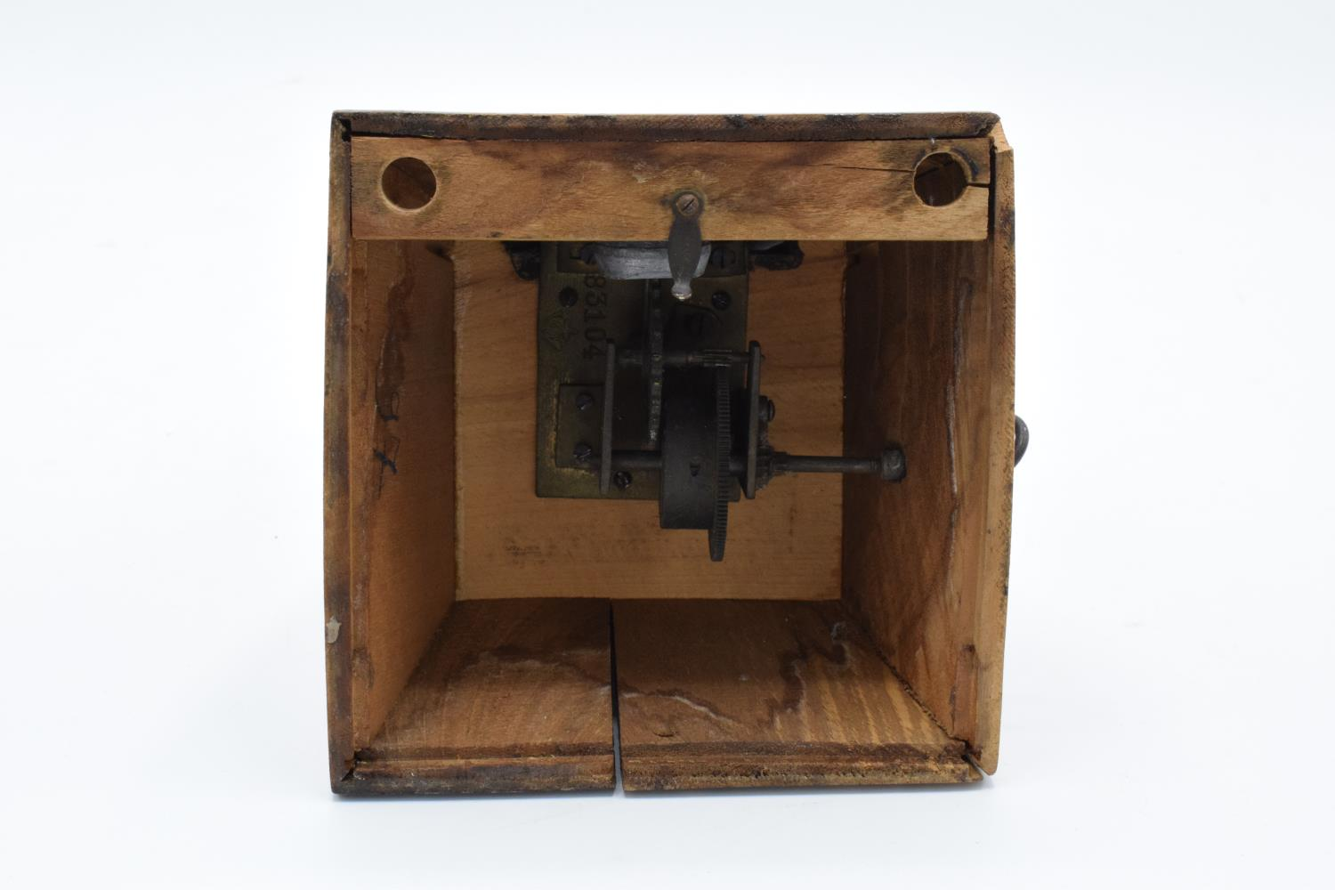 A 20th century wooden cased 'Metronome de Maelzel'. In ticking order though untested for time - Image 10 of 12