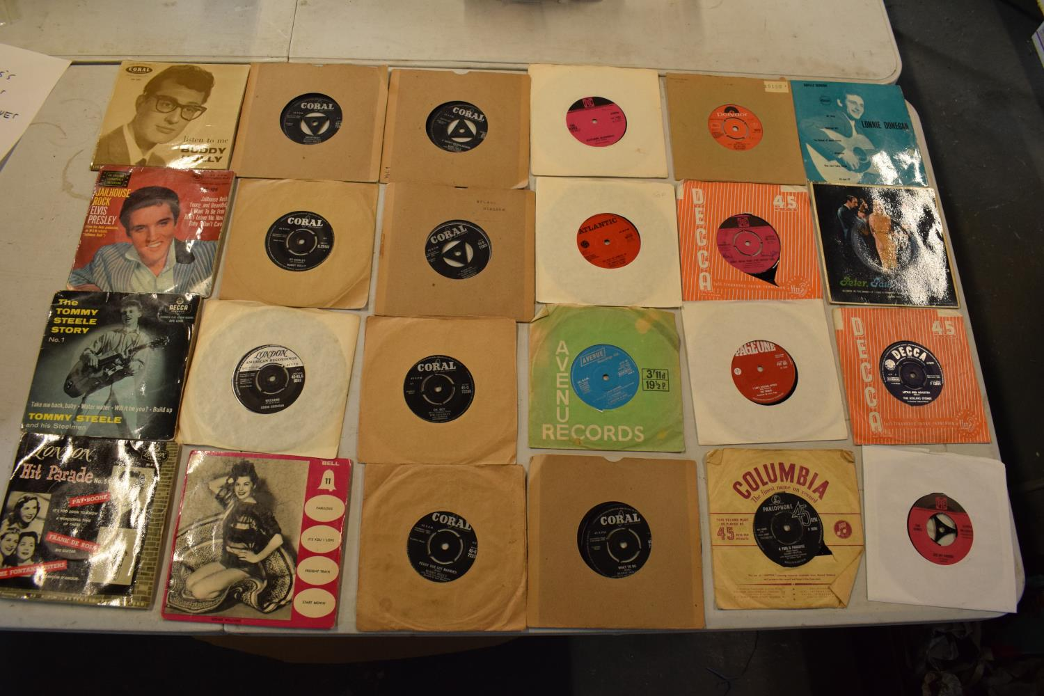 A large collection of 1960s 45s records to include Elvis Presley, Buddy Holly, The Tommy Steele - Image 8 of 8