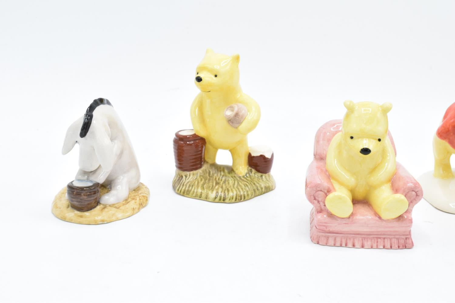 A collection of Royal Doulton Winnie the Pooh figures to include Winnie the Pooh and the paw - Image 4 of 4