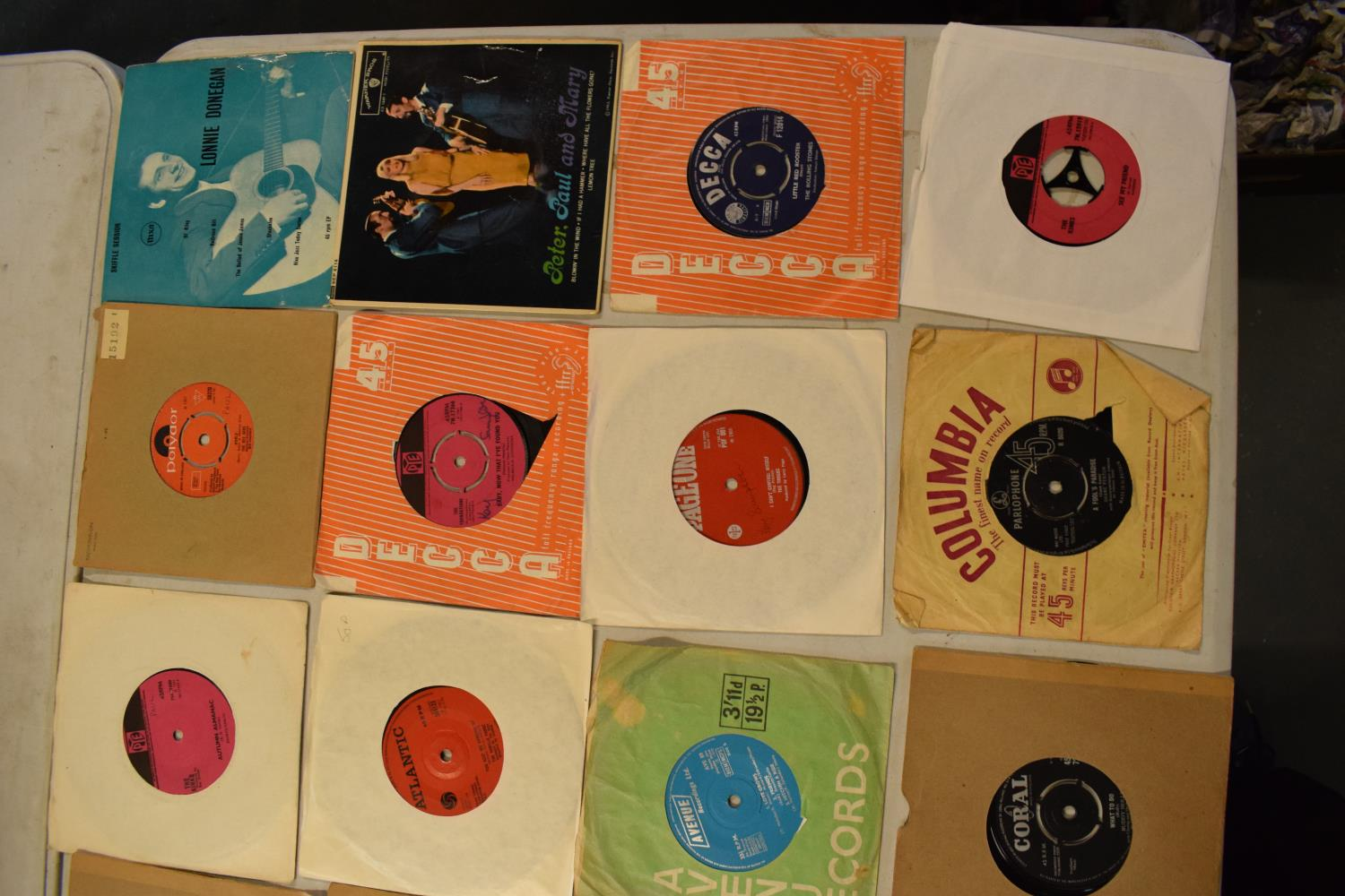 A large collection of 1960s 45s records to include Elvis Presley, Buddy Holly, The Tommy Steele - Image 2 of 8
