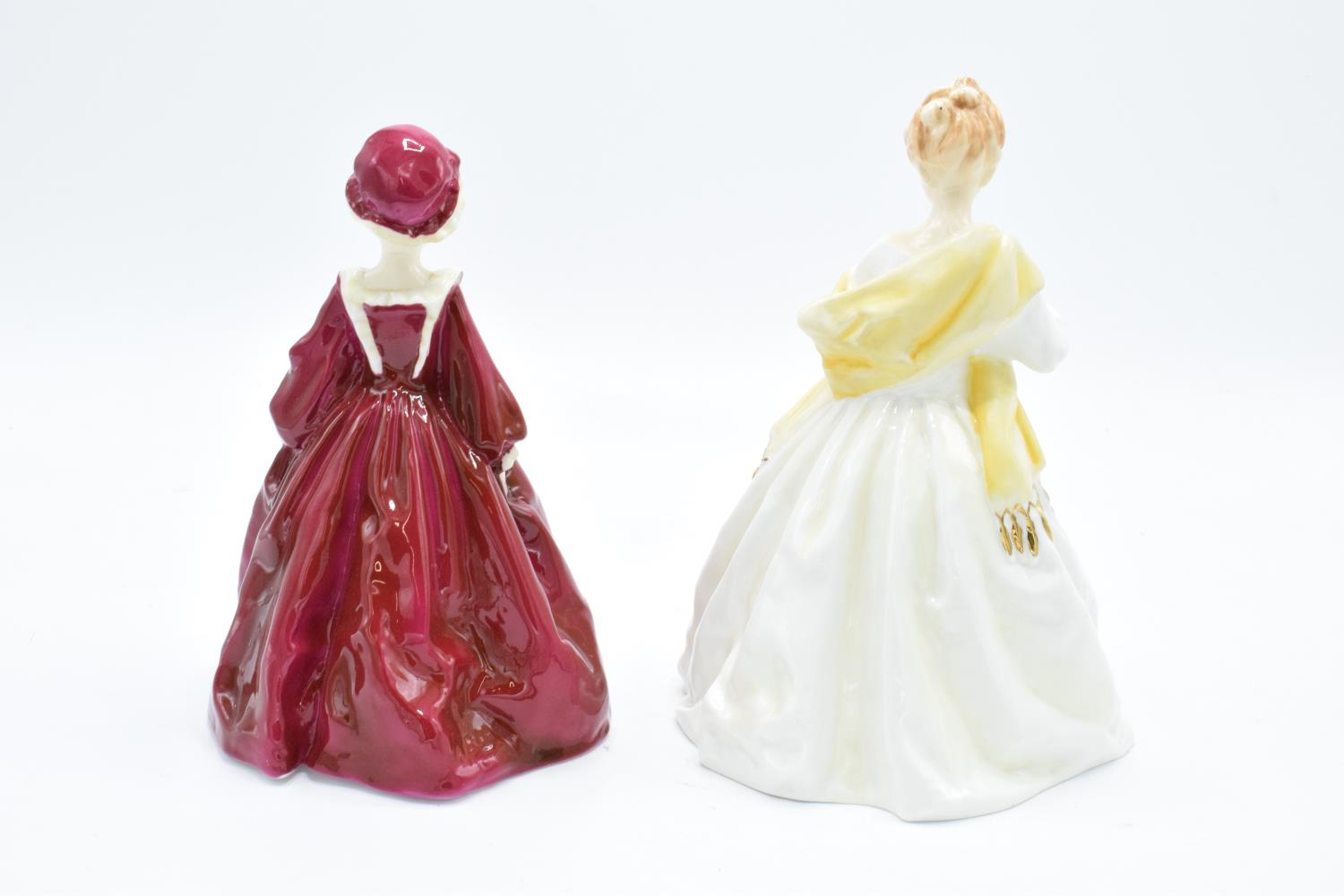 Royal Worcester figures to include Grandmother's Dress 3081 and First Dance 3629, both modelled by - Image 2 of 3