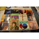 A collection of LPs from a range of dates to include a variety of artists such as Nancy Sinatra, Roy