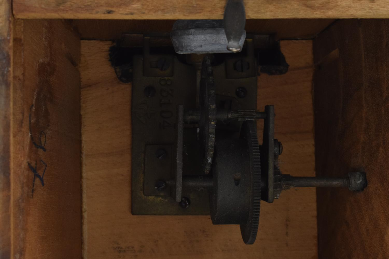 A 20th century wooden cased 'Metronome de Maelzel'. In ticking order though untested for time - Image 11 of 12